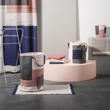 Série Colour Block de ferm Living avec tapis Dip