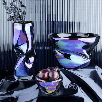 Coupe et vase Warp de Tom Dixon