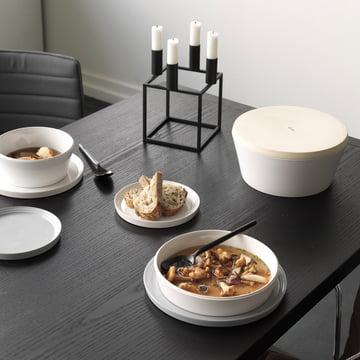Assiettes, coupelles et assiettes creuses Norli de by Lassen