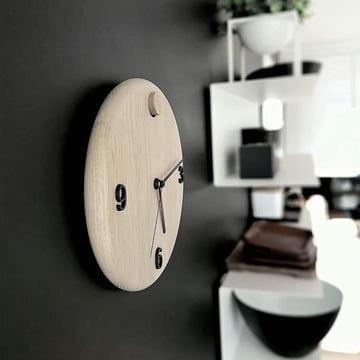 Horloge murale Wood Time d'Andersen Furniture