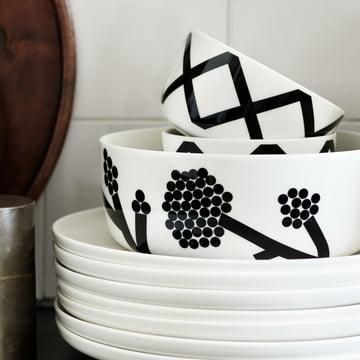 Collection de vaisselle Spaljé de Marimekko
