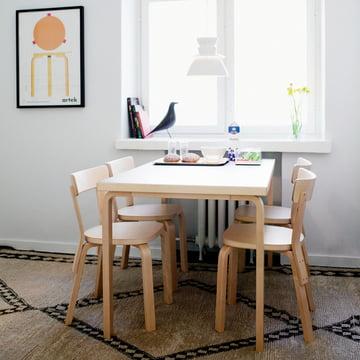 Table 81B d'Alvar Aalto pour Artek