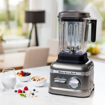 KitchenAid - Mixeur Artisan Power Plus, argenté