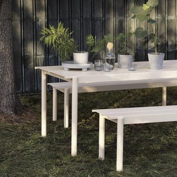 Table Linear Steel par Muuto