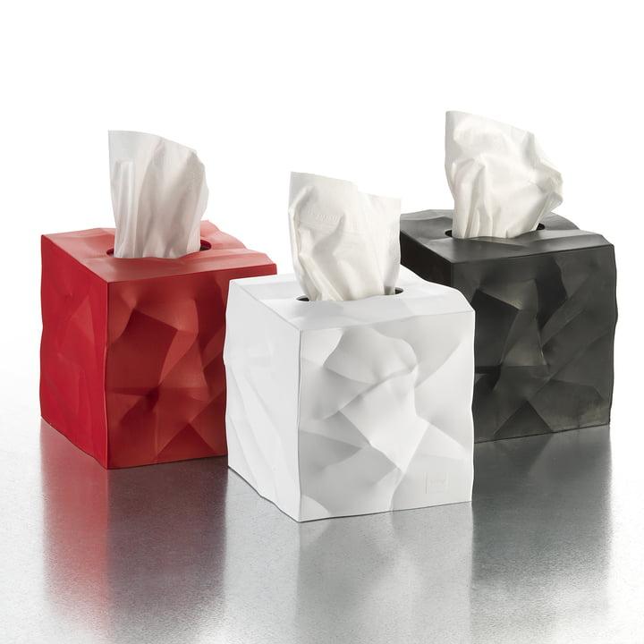 Essey - boîte à mouchoirs Wipy-Cube