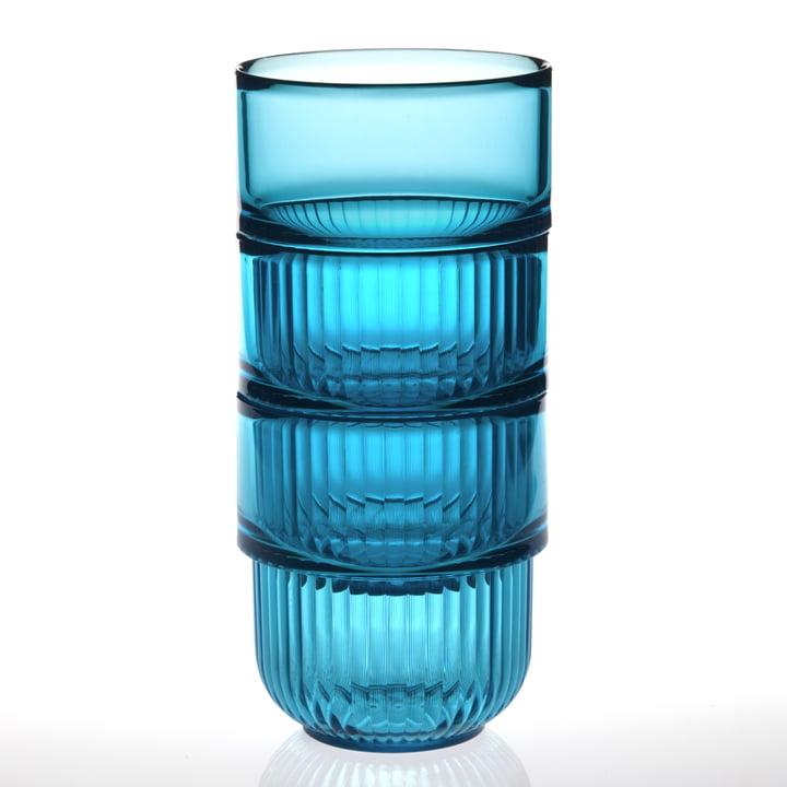 Authentics - Gobelet Kali, bleu transparent