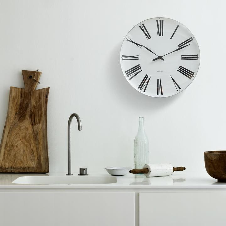 Rosendahl - Horloge murale AJ Roman, Ø21cm