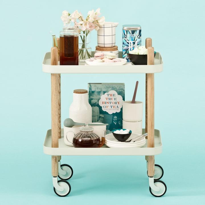 Normann Copenhagen - Block Table d'appoint avec Tea Egg