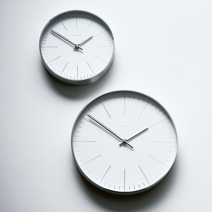 Horloge murale à traits Max Bill - suspendu au mur