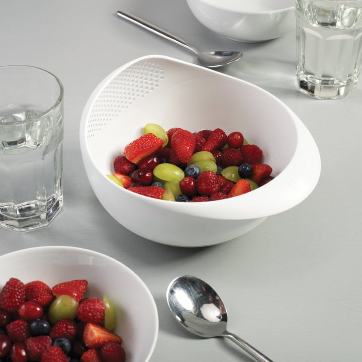 Joseph Joseph - Prep & Serve, blanc - fruits