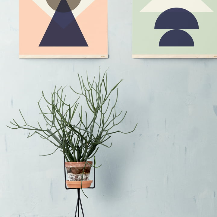 Support pour plantes moderne de ferm Living