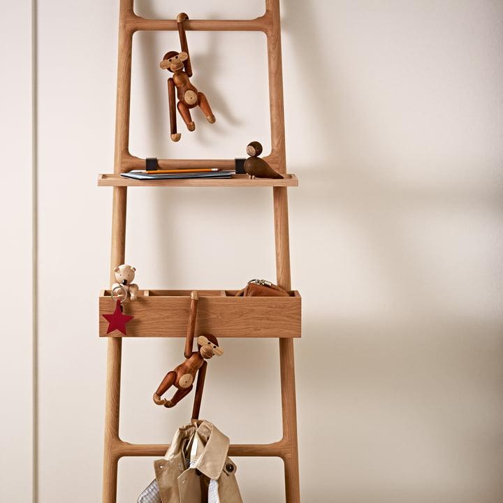 Kay Bojesen - Figurines en bois - Singe, ours, oiseau
