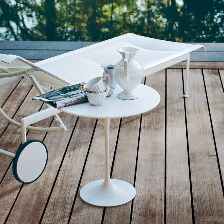 Knoll - Table d'appoint Saarinen Tulip ronde