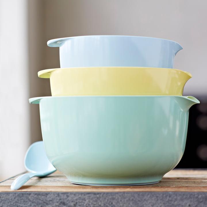 Rosti Mepal - Lot de bols mélangeurs Margrethe