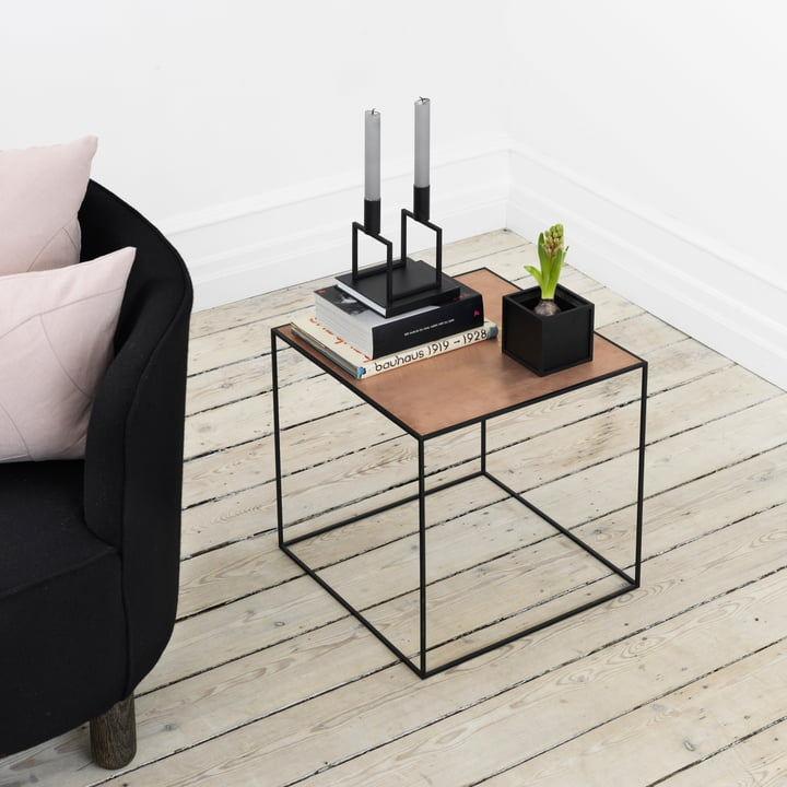 by Lassen - bougeoir Line, table d'appoint Twin