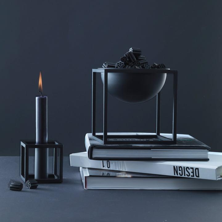 by Lassen - Kubus 1, Kubus Bowl, noir