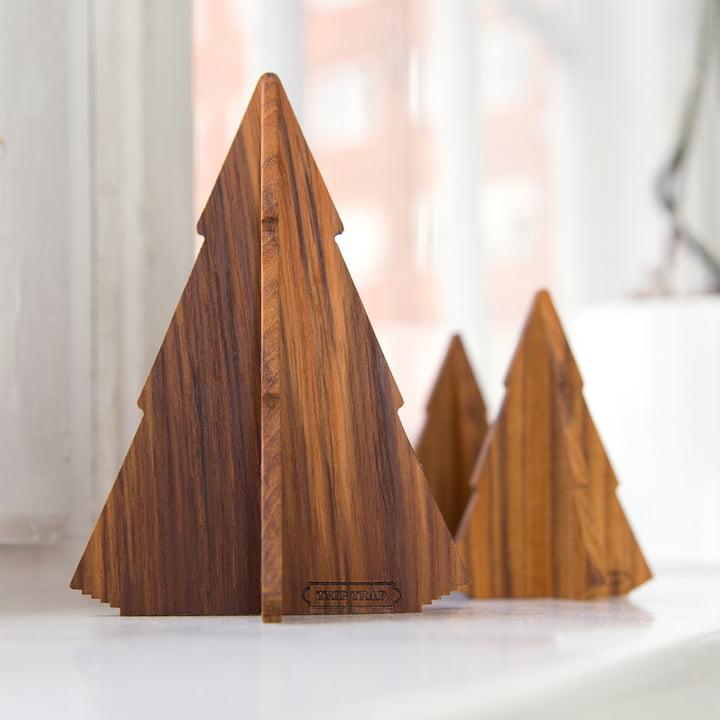 Petite forêt en bois de teck