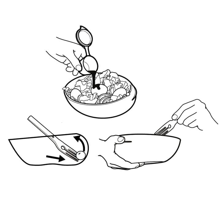 Black + Blum - Bol Lunch Bowl, esquisse