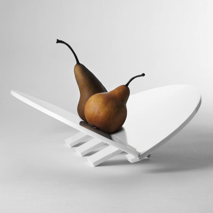 Design House Stockholm - Plateau Leaf, blanc