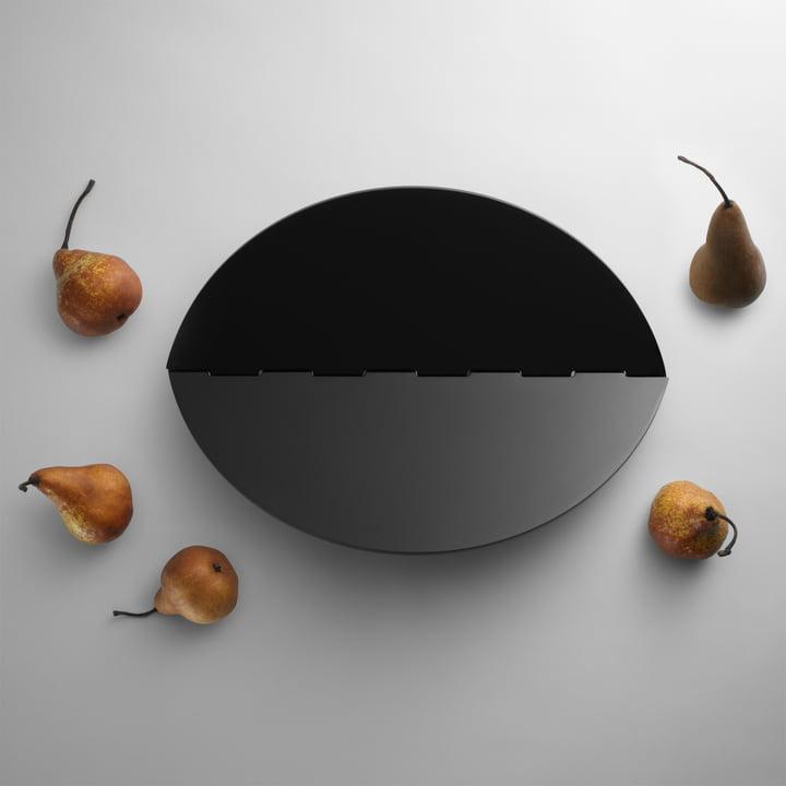 Design House Stockholm - Plateau Leaf, noir