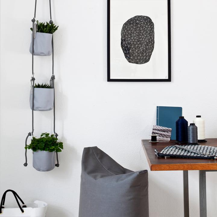 Trimm Copenhagen - Pots suspendus Vertical Flowerpot