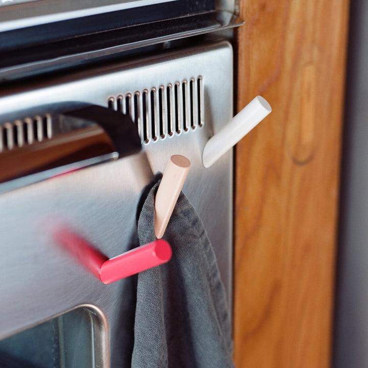 areaware - Aimants Stick-up Sticks, hêtre