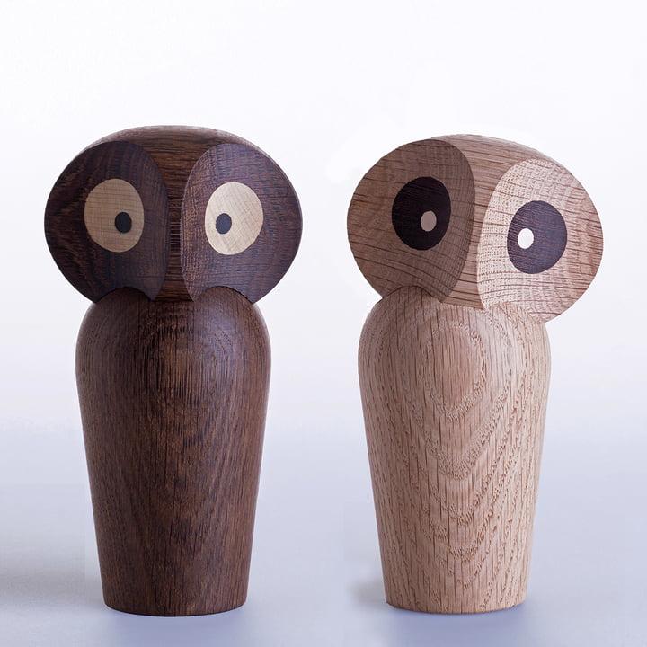 ArchitectMade - Chouette Owl Large, chêne fumé, chêne naturel