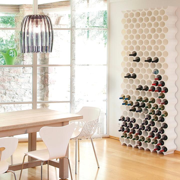 Koziol - Casier à bouteilles Set-Up