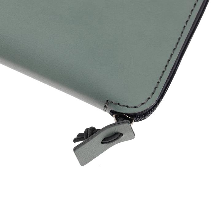 LindDNA - Pochette pour ordinateur portable Torro 15″ en vert pastel