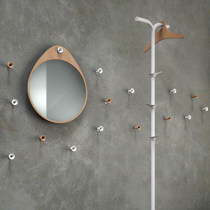 Rizz - Miroir mural The Egg