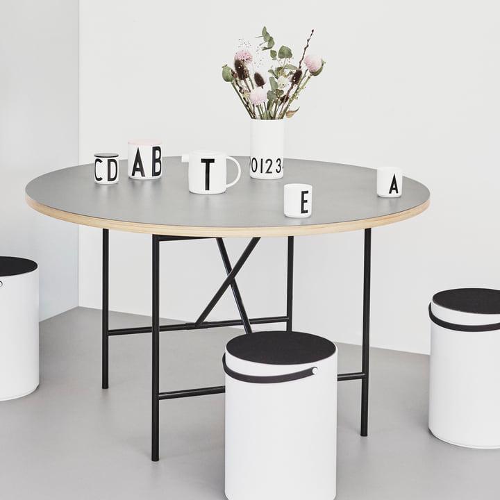 Vase 0-9 de Design Letters