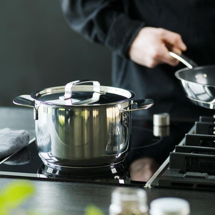 Faitouts et poêles All Steel de Fiskars pour une expérience de cuisine unique