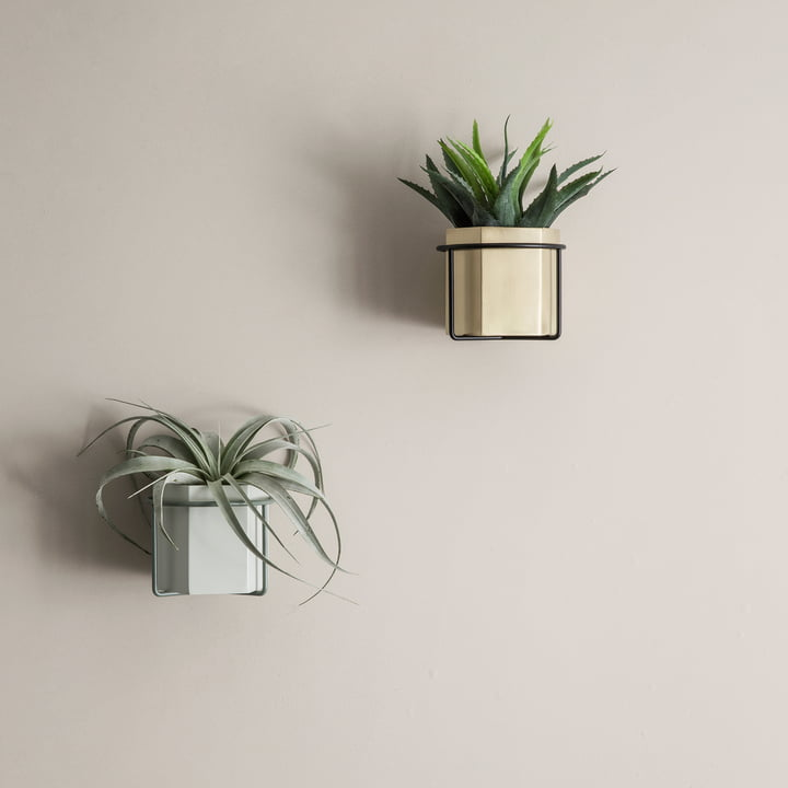 Pot Hexagon, vase et support de plante