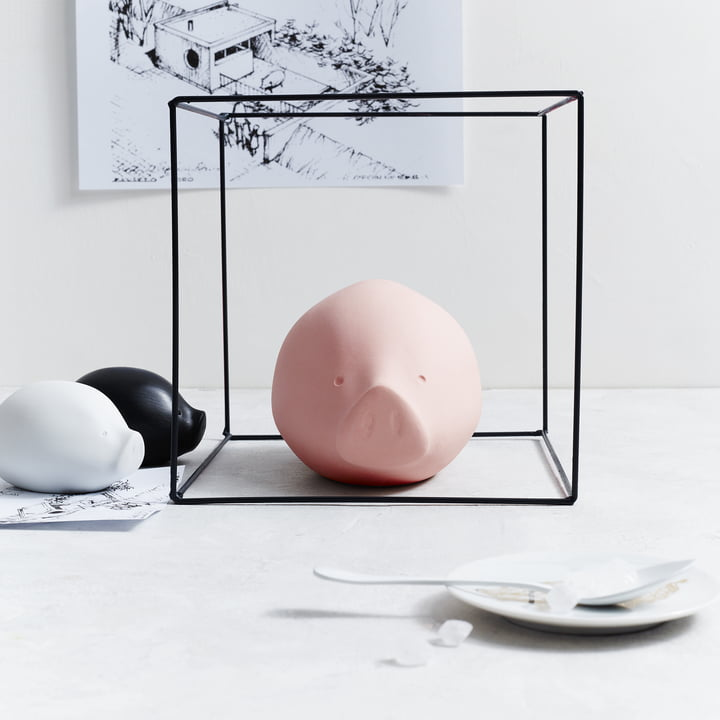 La collection Roro en rose, noir et blanc de Rosenthal.