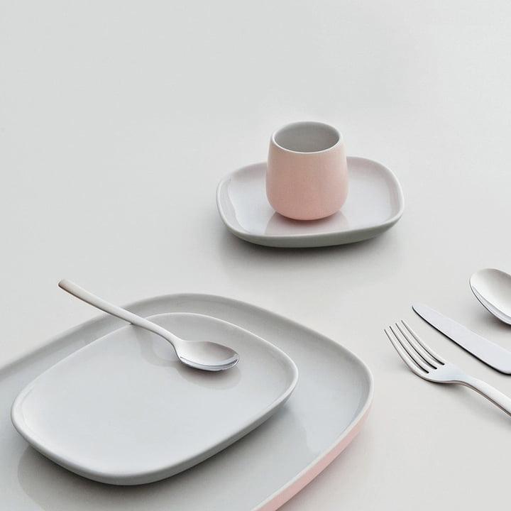 Collection de vaisselle Ovale avec couverts