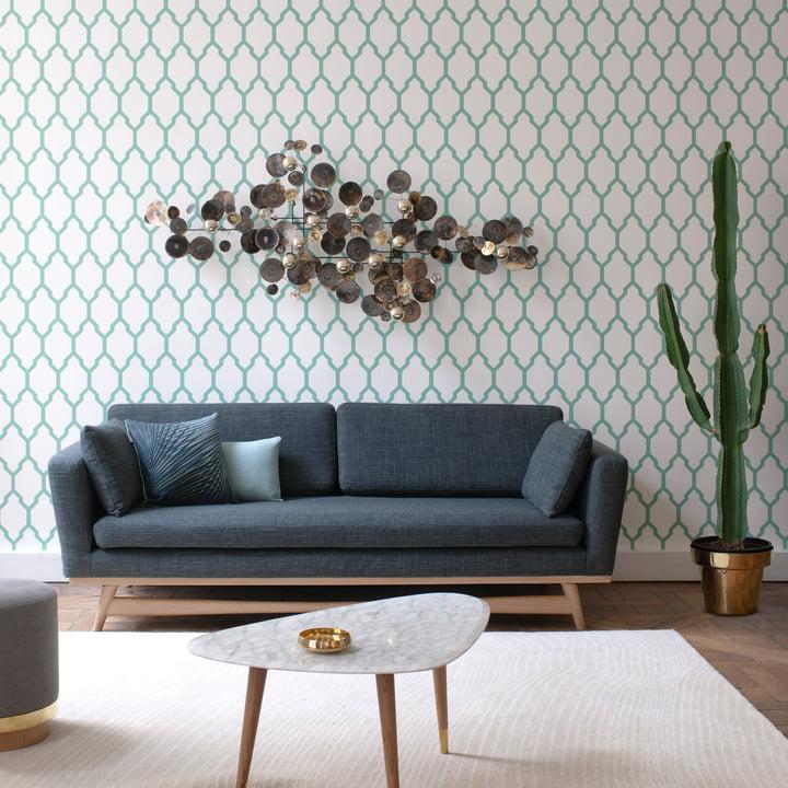 canap fifties par red edition connox. Black Bedroom Furniture Sets. Home Design Ideas