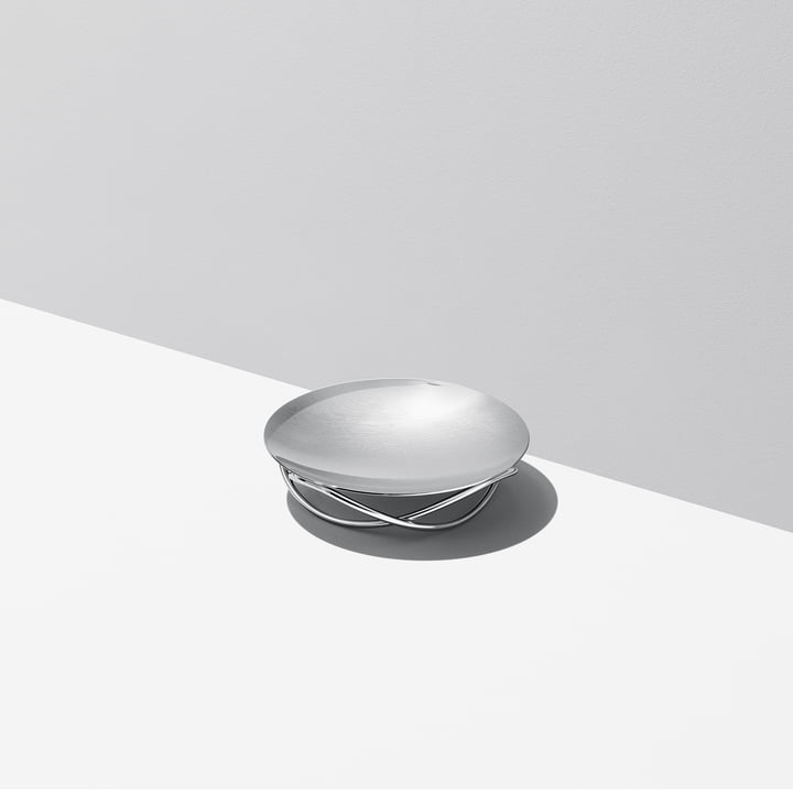 Coupe Glow medium de Georg Jensen en acier inoxydable brillant