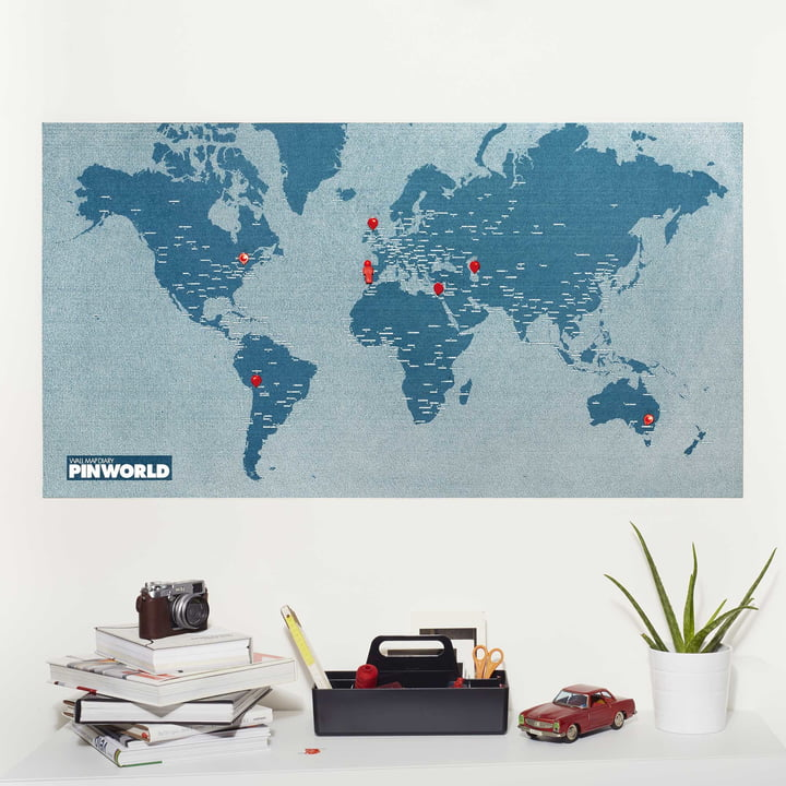 Palomar - Pin World Mini, bleu clair