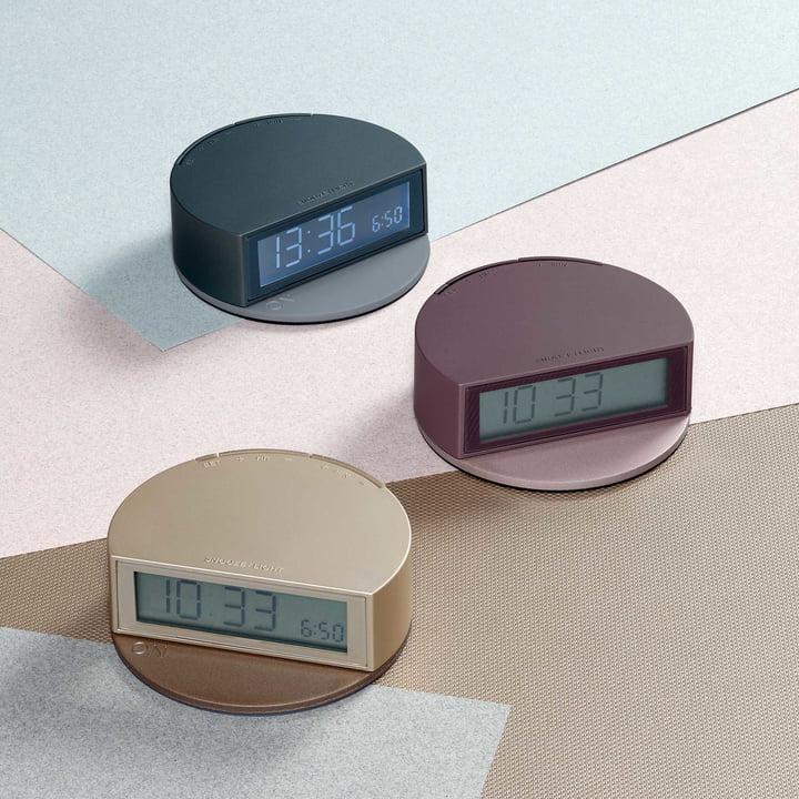 Fine Clock de Lexon en ABS et métal