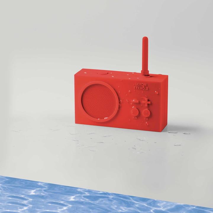 Radio Tykho 2 de Lexon en rouge
