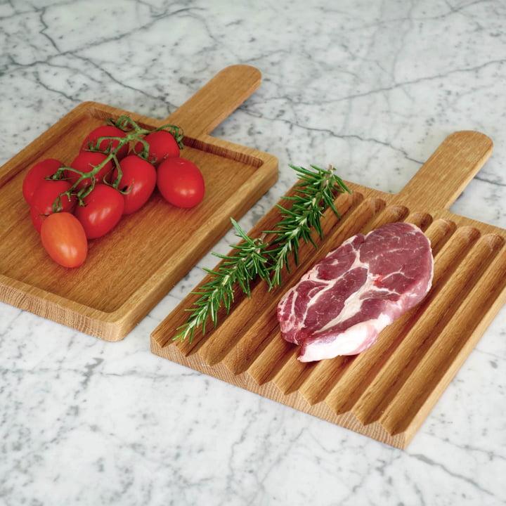 La planche-plateau et la planche à viande d'Auerberg
