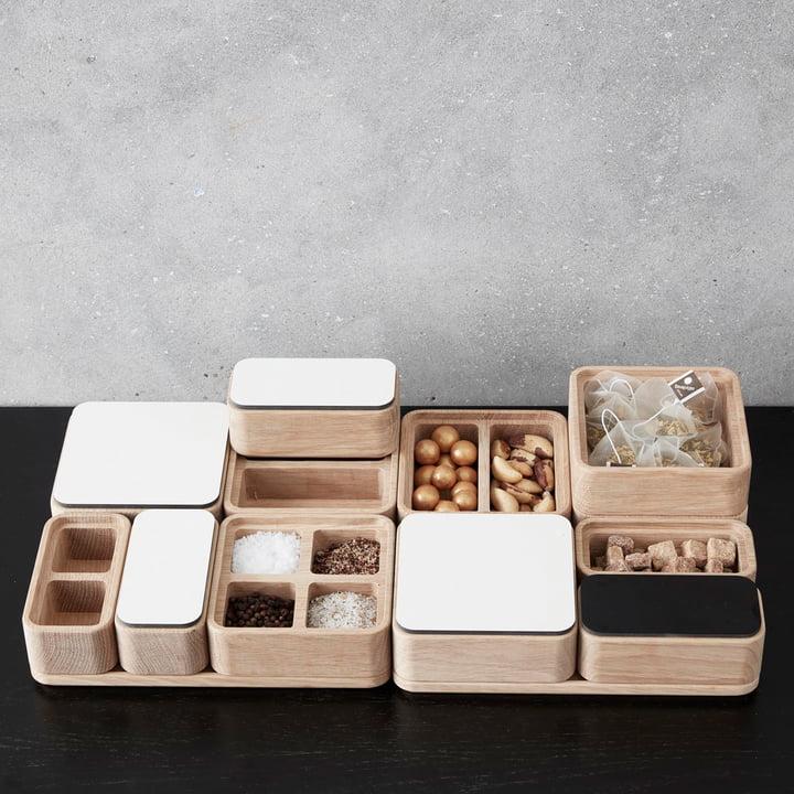 Boîtes et couvercles Create Me de Andersen Furniture