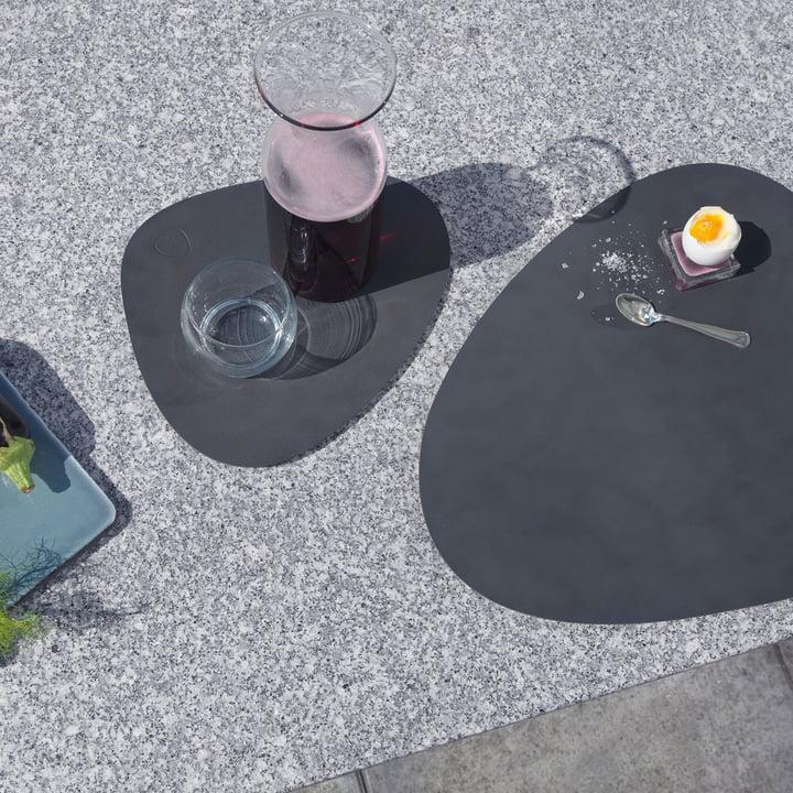 Table Mat de LindDNA gris en petit et en grand format