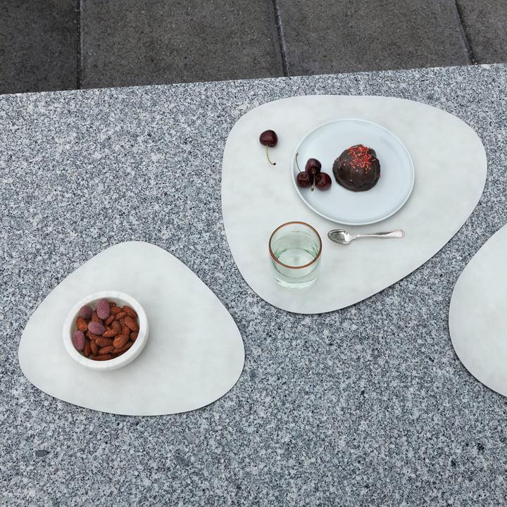 Sets de table Table Mat blanc de LindDNA
