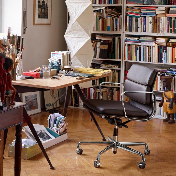 Eames Aluminium Group Lounge Chair