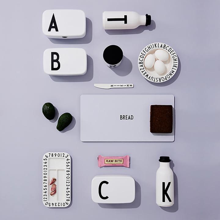 Vaisselle ABC de Design Letters