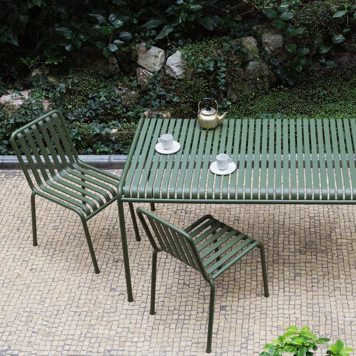 Table et chaises Palissade par Hay