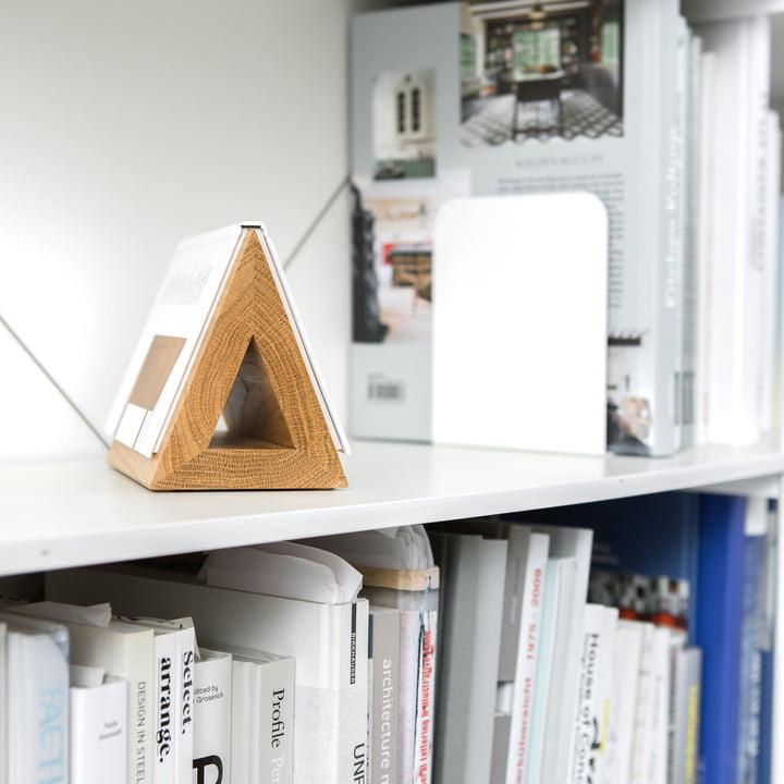 Triangle en bois - Marque-pages pour livres de poches