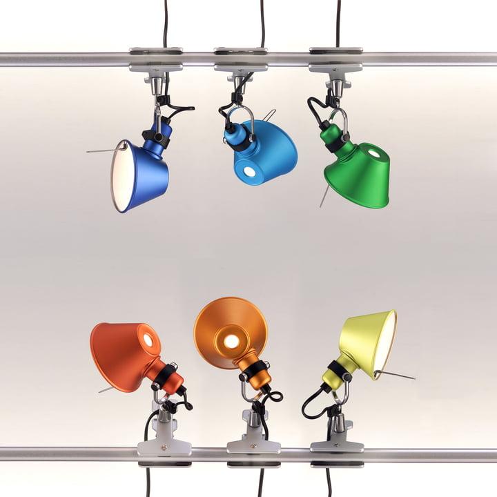 Tolomeo pinza lampe pince de artemide for Imitazioni lampade design