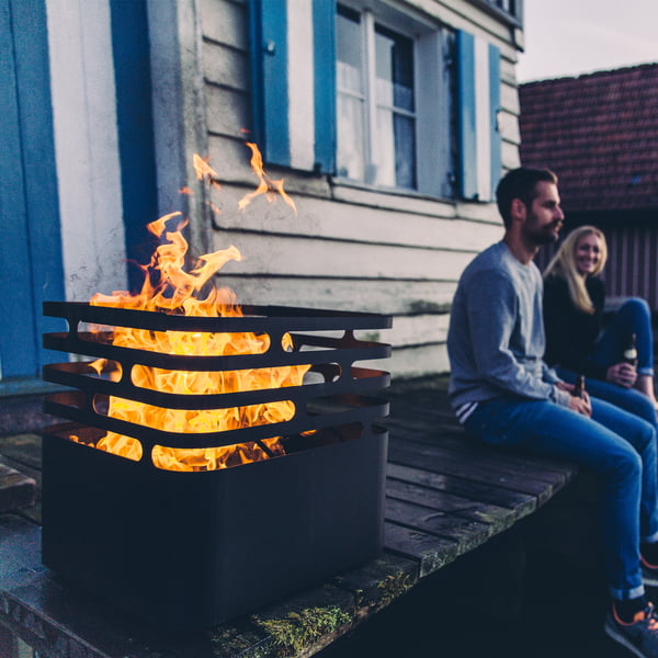 Cuve à feu en acier inoxydable